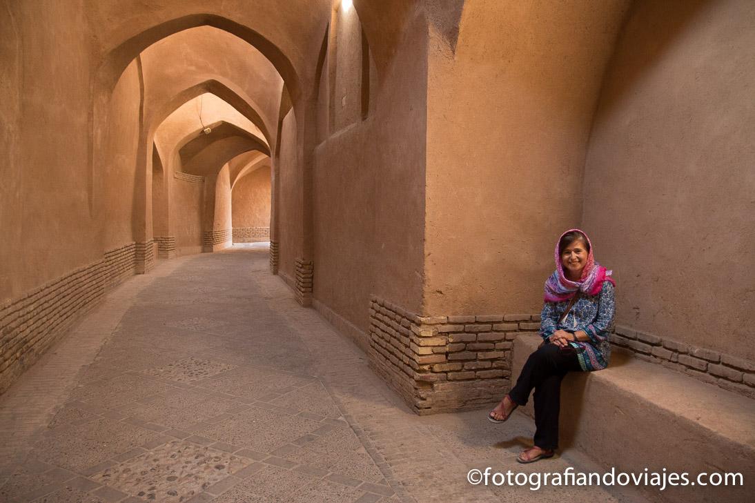 Calles de Yazd en Iran