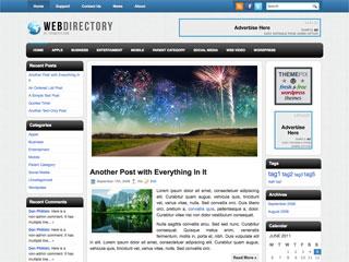 WebDirectory Free WordPress Theme