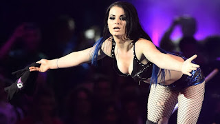 Female WWE star Paige