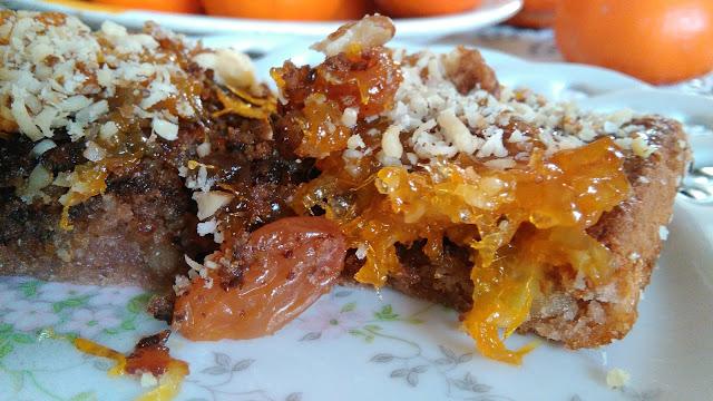 mandarine,kolač