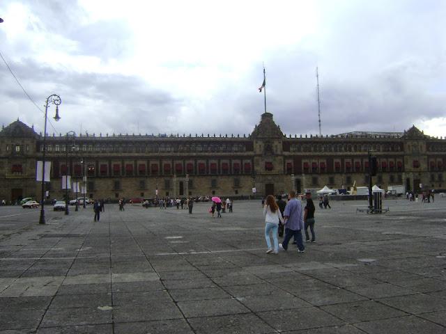 Palacio Nacional.Centro Historico de la Ciudad de Mexico