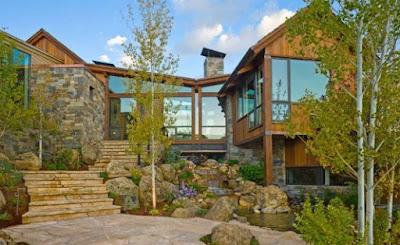 stone style house 12