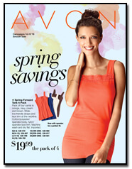 Avon Spring Savings Flyer