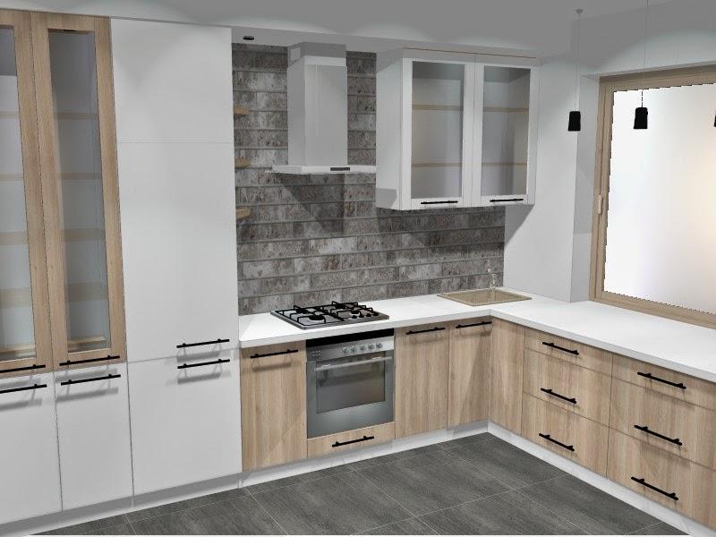Kuchnia w bloku - mała kuchnia z dobrym planem. - Blog o projektowaniu mebli