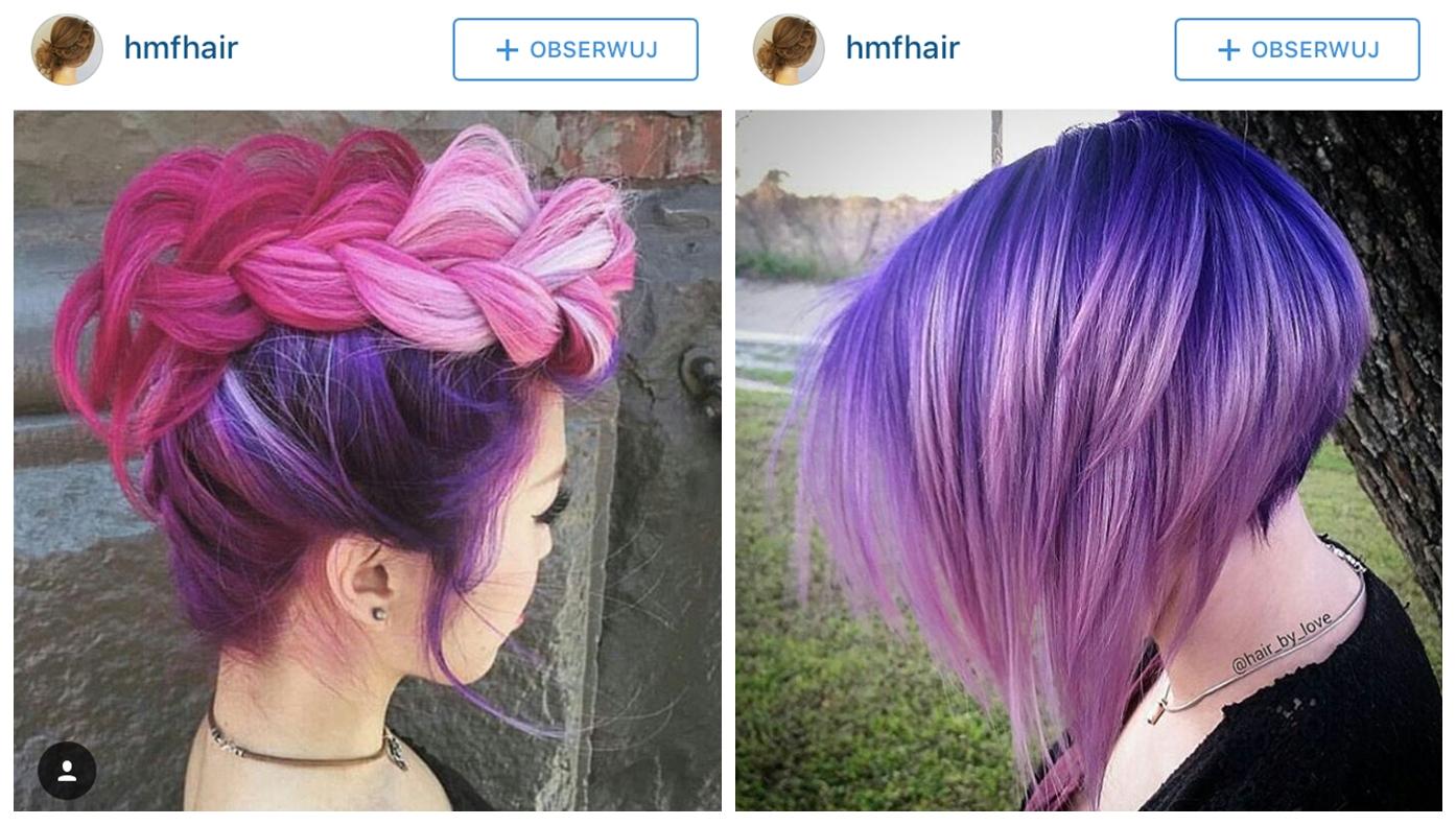Ombre Na Włosach Długich I Krótkich Ombre Blond Rude I Kolorowe