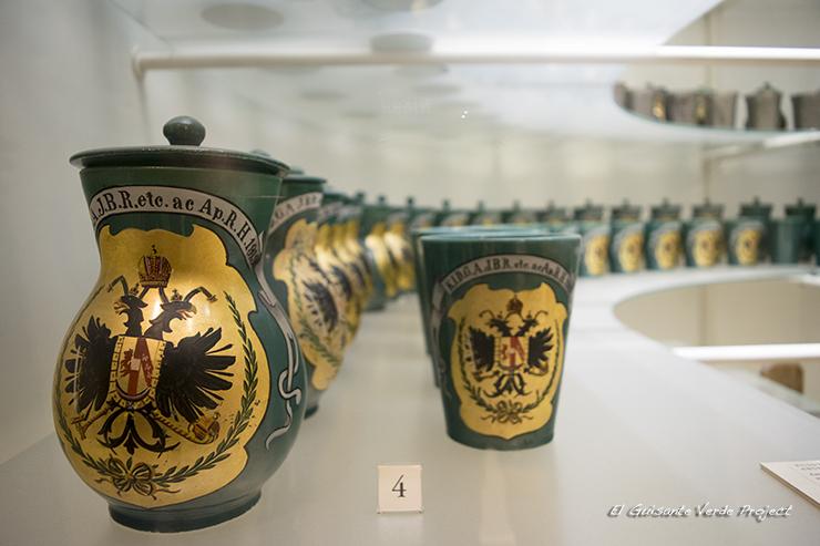 Copas emblema Austrias, Hofburg - Viena por El Guisante Verde Project