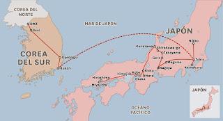 Corea del Sur y Japón