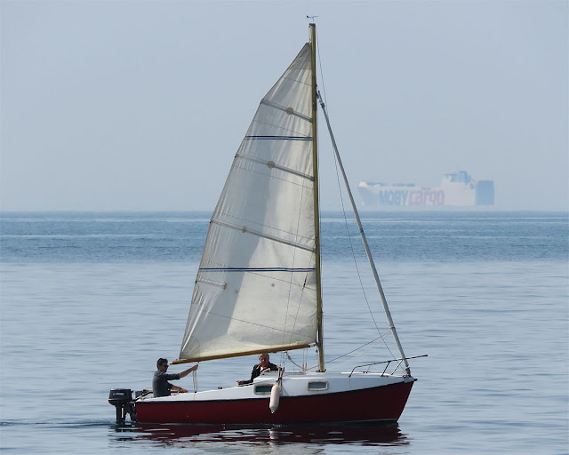 Barca a vela, Terrazza Mascagni, Livorno
