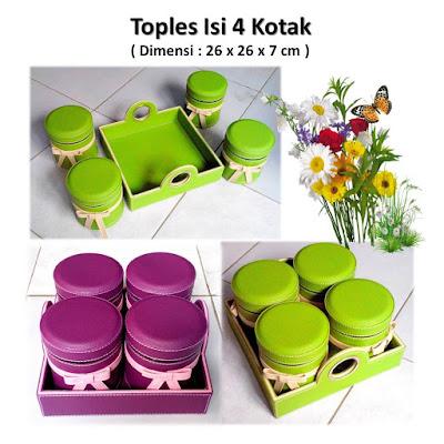 Toples Vinyl  Toples Lebaran Kotak Isi 4