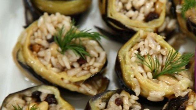 nurselin mutfagı zeytinyağlı patlıcan dolması