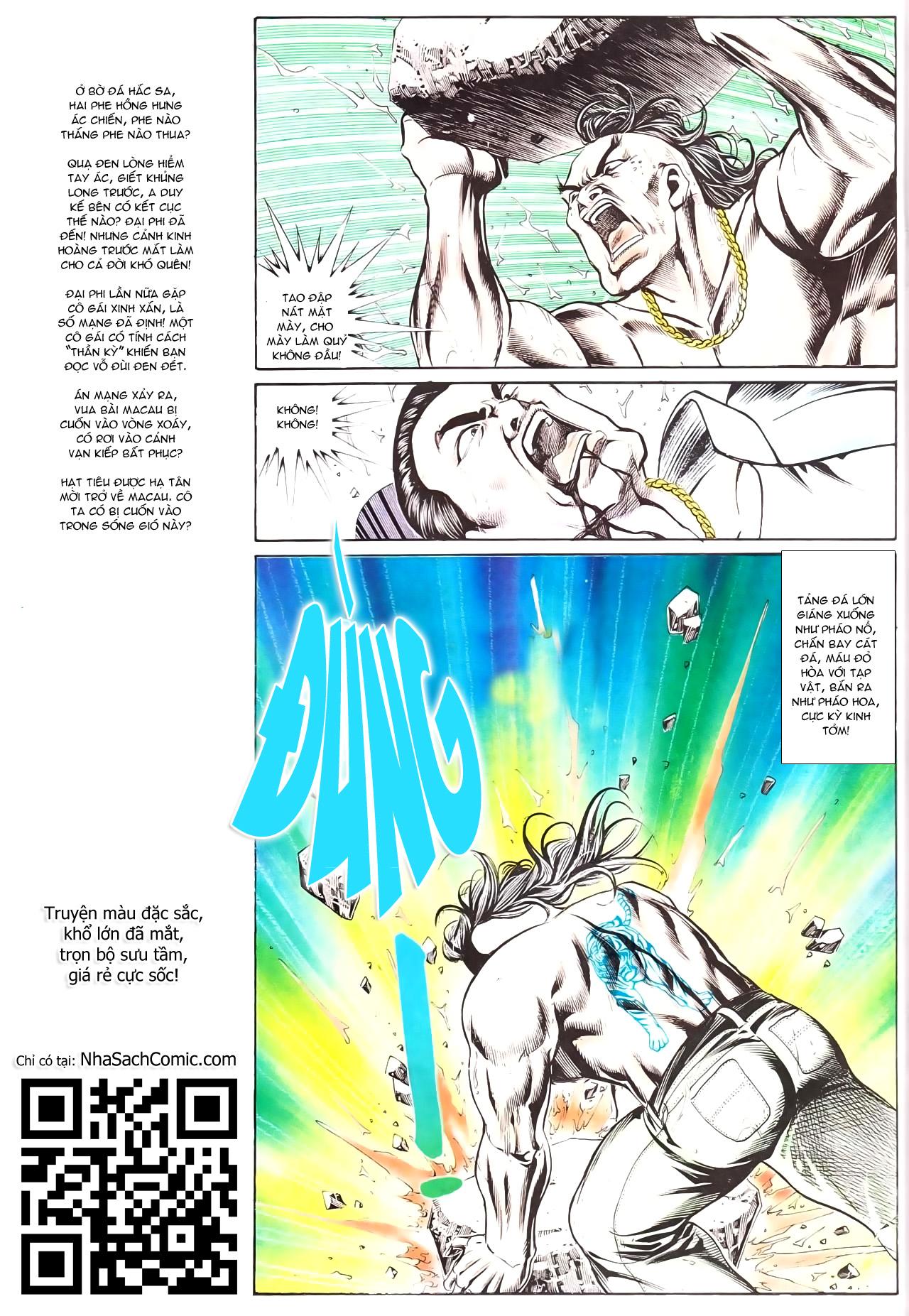 Người Trong Giang Hồ chapter 169: kết cục khủng long trang 29