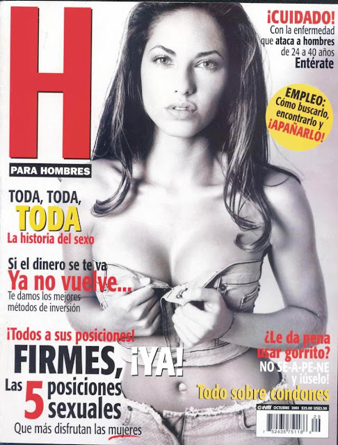 Barbara Mori Revista H Octubre 2001 [FOTOS]