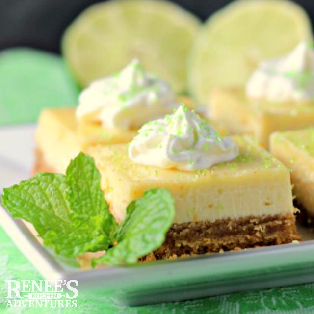 Easy Key Lime Pie Bars | Renee's Kitchen Adventures