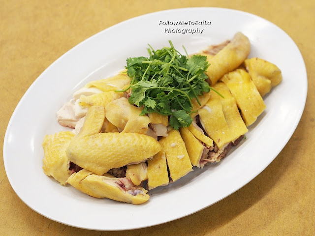 白切走地鸡  Poached Village Chicken RM 38 (Half Chicken)