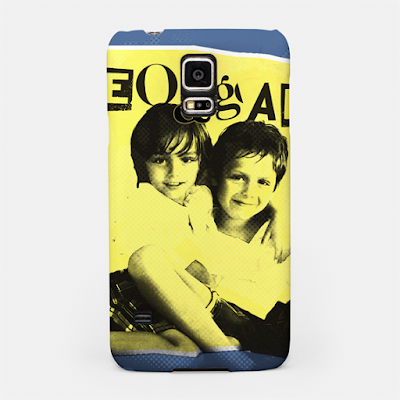 kids photo retouching, customized mobile case punk rock style design
