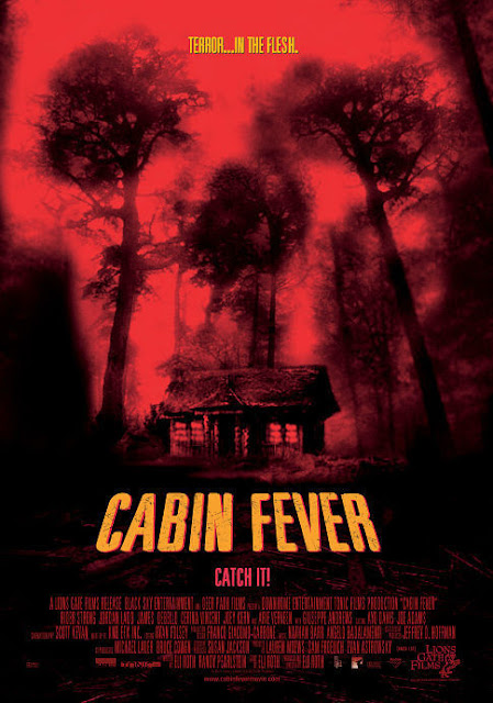Cabin Fever 2002 horror movie poster