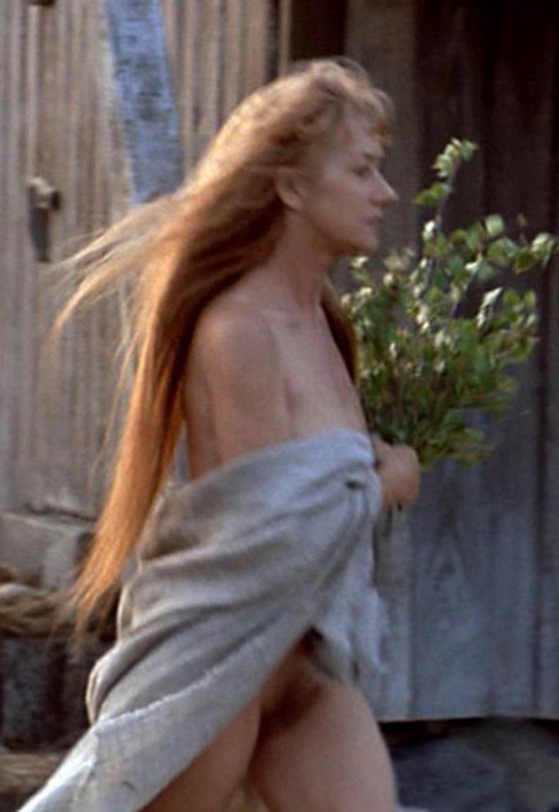 Helen mirren topless