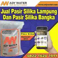 Ady Water jual pasir silika 5kg