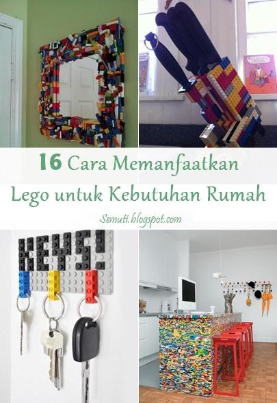 16 Cara Memanfaatkan Lego untuk Kebutuhan Rumah