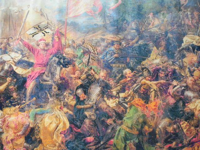 Bitwa pod Grunwaldem, Krzyżacy, wojna, wystawa