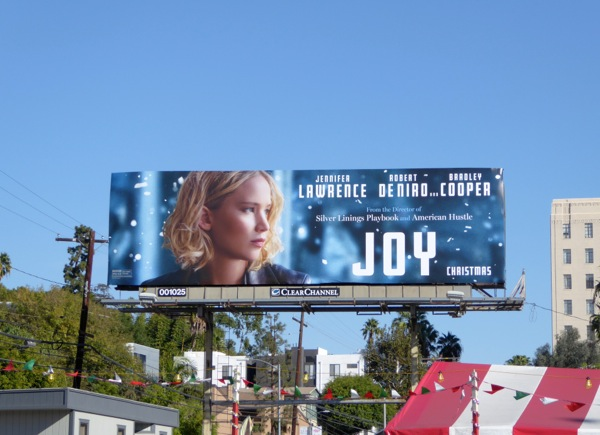 Joy film billboard