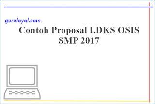 contoh proposal ldks osis smp