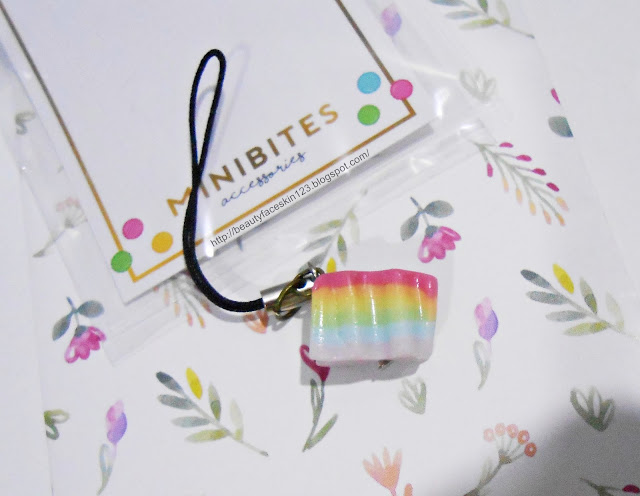 CUBECRATE JULY 2016 MiniBites kuih lapis keychain
