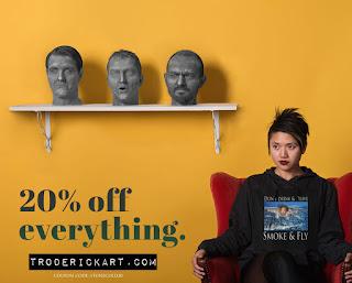 20% off promo Coupon Code STONECOLD20 troderickart.com