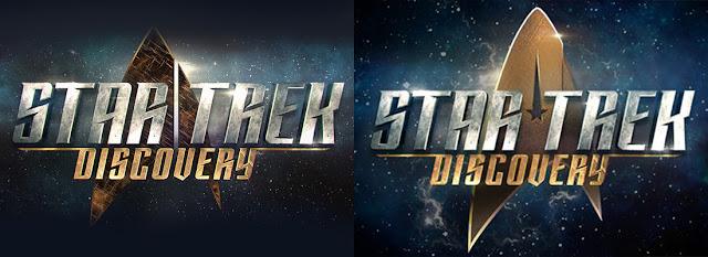 Il logo di Star Trek Discovery: vecchia e nuova versione a confronto - TG TREK: Notizie, Novità, News da Star Trek