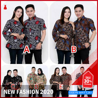 MRTT261M89 Maura Couple Sania Ruffle Batik Couple BMGShop
