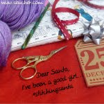#stitchingsanta 2017 swap