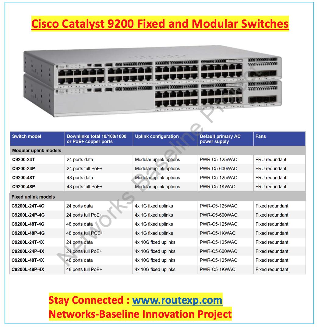 Cisco Catalyst 9200L 48 Port Poe Switch - Swdigital