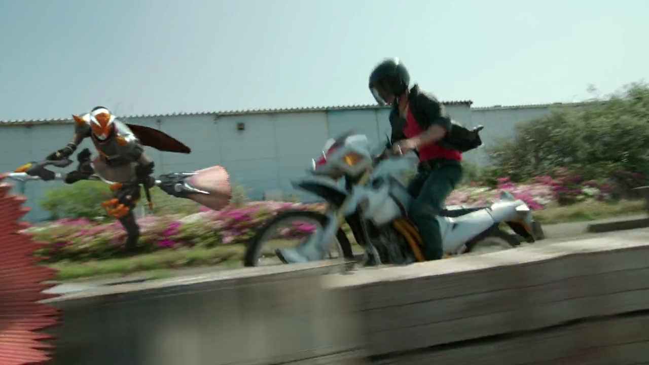 Haruto is chased by a platoon of Mages