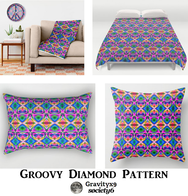 Groovy Psychedelic Colors Home Decor At Society6
