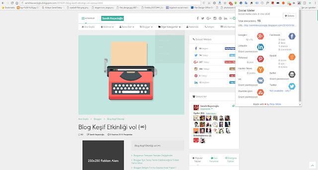 Blogger'ı Daha Kullanışlı Hale Getiren 6 Adet Google Chrome Eklentisi