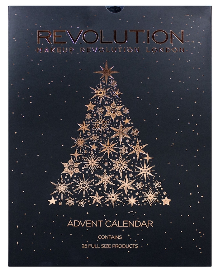 Here are the contents of the Makeup Revolution Beauty Advent Calendar.