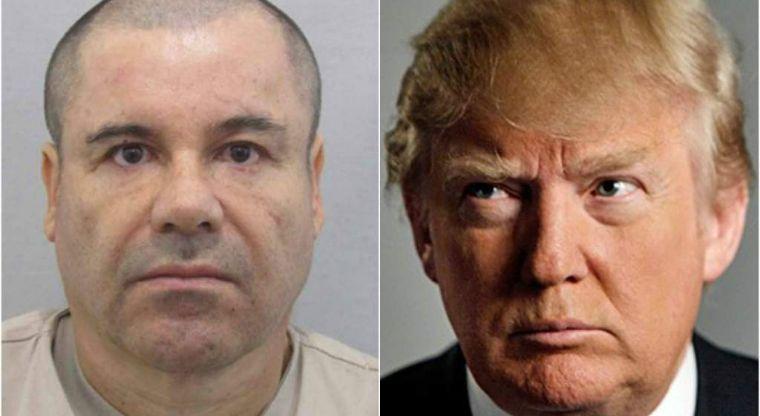 """¿Qué dijo """"El Chapo"""" Guzmán sobre Donald Trump?"""