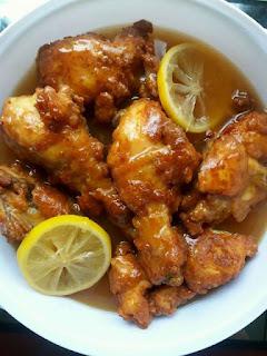 Resepi Ayam Lemon Sedap
