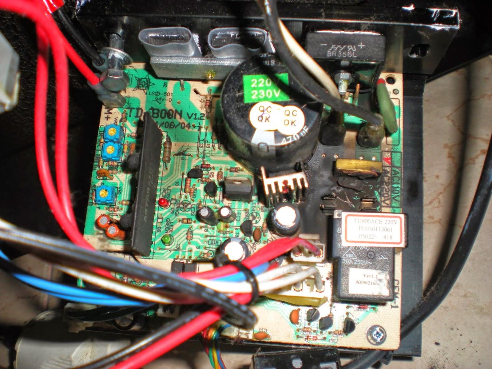 medium resolution of domyos tc 530 treadmill motor board