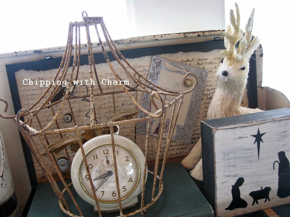 Chipping with Charm: Deer everywhere...http://www.chippingwithcharm.blogspot.com/