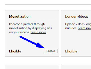 how to enable monetisation