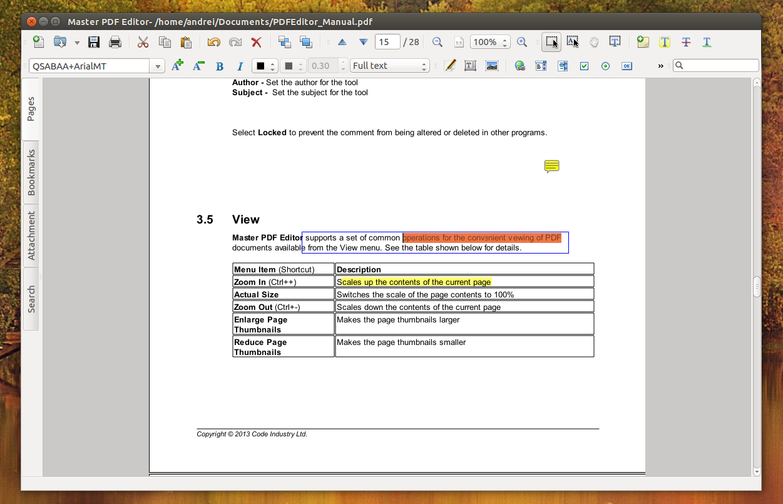 medium resolution of master pdf editor ubuntu