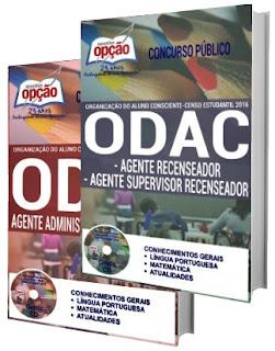 concurso público ODAC 2016