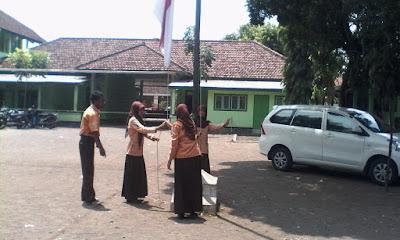 latihan upacara
