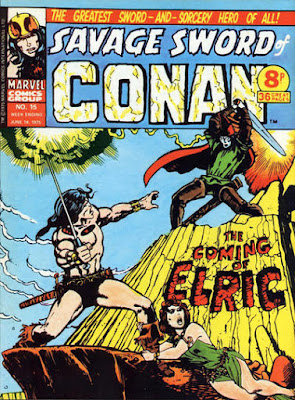 Marvel UK, Savage Sword of Conan #15, Elric