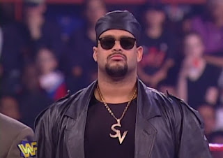 WWE / WWF - In Your House 14: Revenge of Taker - Savio Vega challenged Rocky Maivia for the Intercontinental title