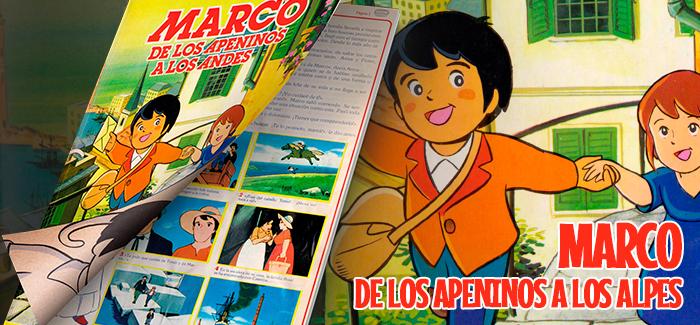 Álbum Marco, de los Apeninos a los Andes (Danone, 1976)