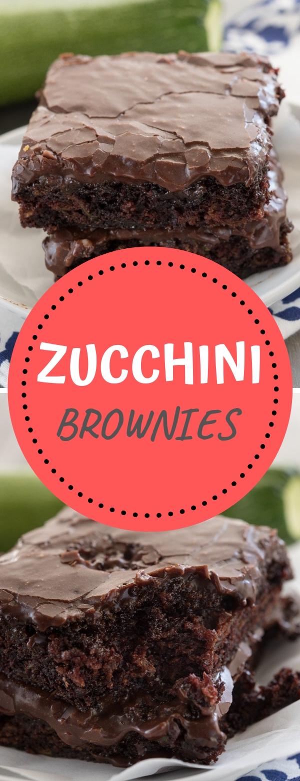 ZUCCHINI BROWNIES #zucchini #brownies