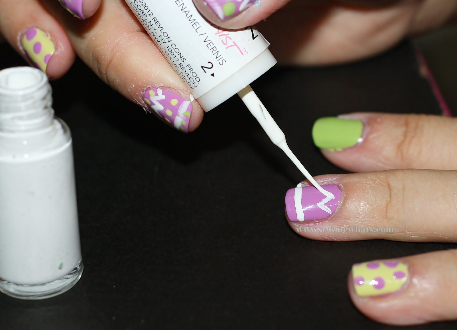 A photo of Easter Egg Nail Art Tutorial