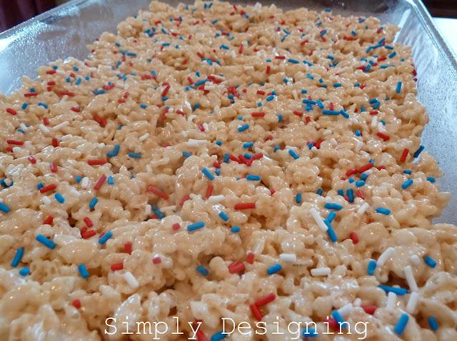 RK1a 4th of July Rice Krispie Treats 3